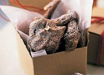 Biscuits meringue au chocolat et aux noix
