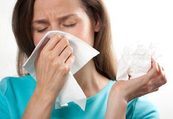 2. Maladies saisonnières, comme le rhume et la grippe