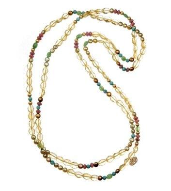 Long collier Lakshmi guérisseur