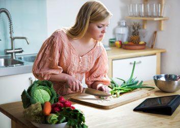 Préparation et consommation des aliments