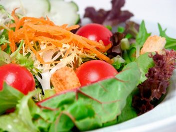 Salades enrichies