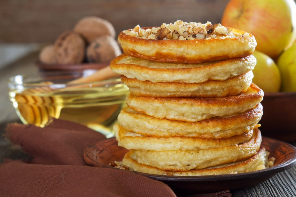 Des crêpes à la citrouille, un déjeuner simple pour toute la famille