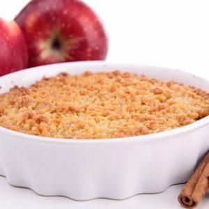 Recette de croustade aux pommes et à la cannelle