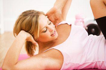 Délit: penser que vous pouvez amincir certaines parties de votre corps grâce à des exercices spécifiques