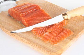 Saumon et autres poissons gras