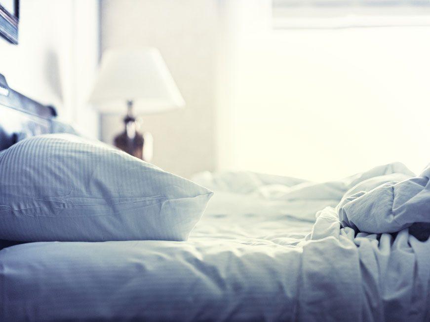 Les draps du lit