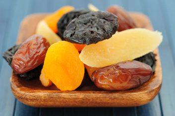 4. Fruits déshydratés