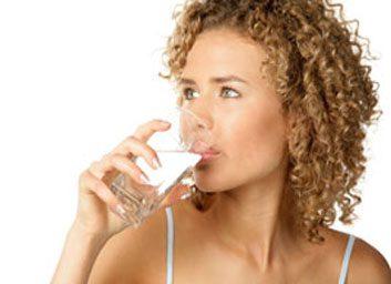 4. Pour refaire vos énergies, prenez un verre d'eau