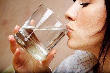 2. Boire de l'eau