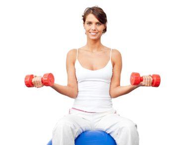 3. Haltères pour les épaules et le haut du dos