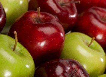 Une collation à la tarte aux pommes