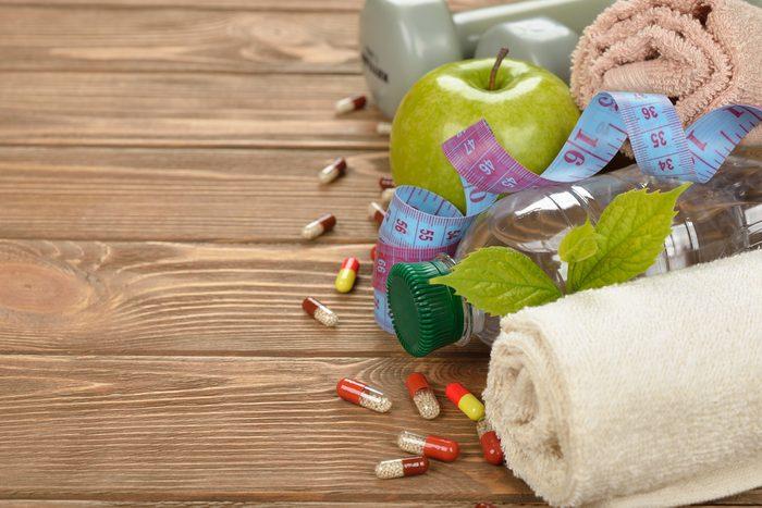 Eau, exercices et médicaments