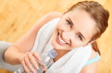 Rechargez vos batteries... buvez de l'eau!
