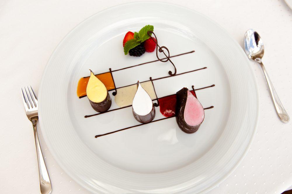 La musique d'ambiance réduit votre appétit.