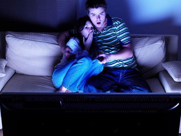 Éviter la télé juste avant le coucher