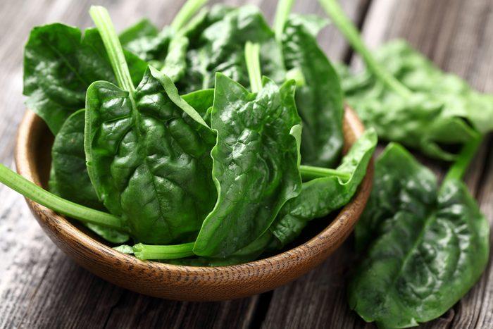 7. Ajouter des épinards à votre goûter