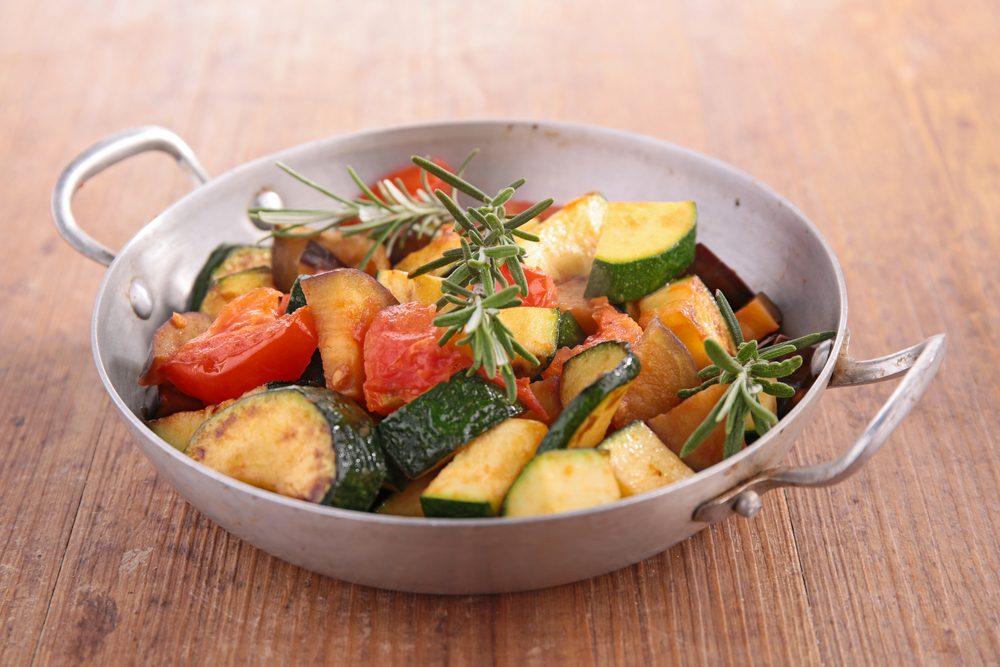 Les légumes trop cuits