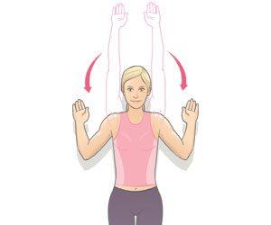 Le balayage de l'épaule