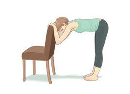L'étirement des ischio-jambiers avec chaise