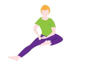 6 tirements importants pour votre souplesse for Etirement cuisse interieur
