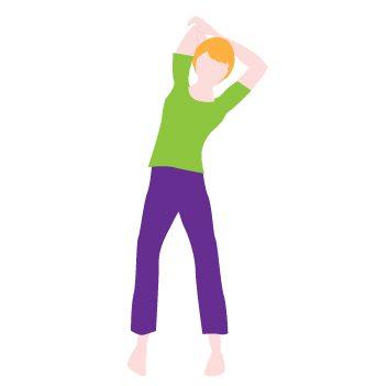 Flexion latérale