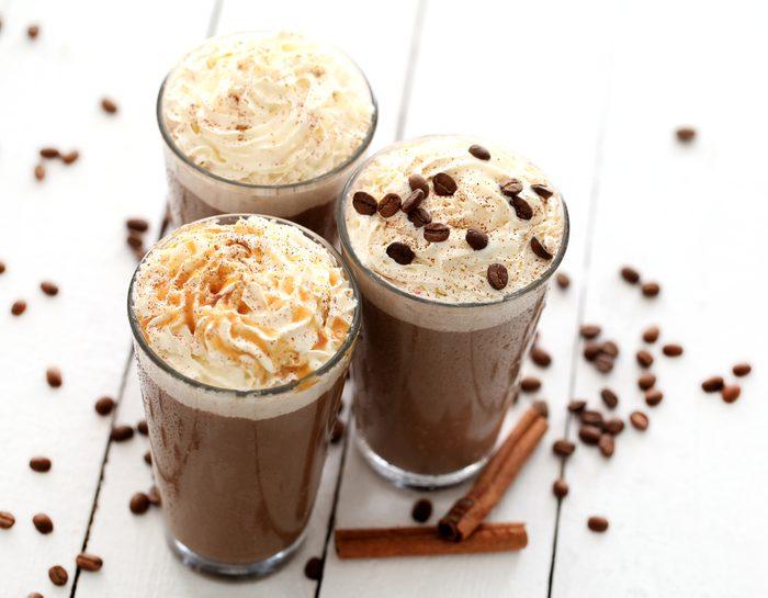 Une recette de café au chocolat chaud