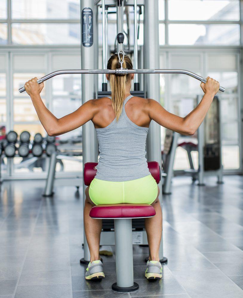 Des exercices de musculation graduels