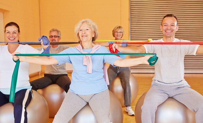 De l'exercice à n'importe quel âge