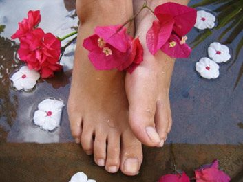 Des pieds sans odeurs