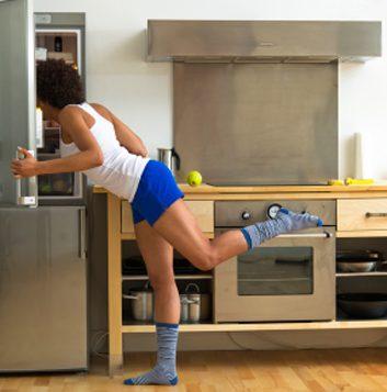 L'entraînement dans votre cuisine