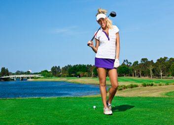 On se met au golf!