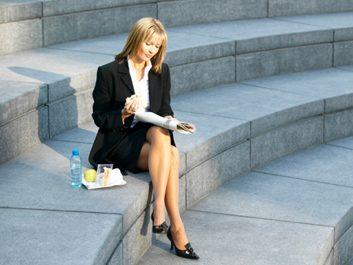 6. Mangez en plein air.