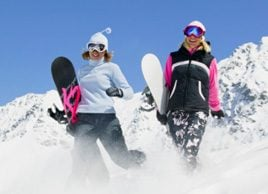 Tendance fitness: le snowboard
