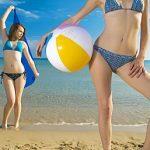 3 exercices de plage sur la serviette