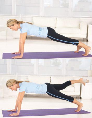 Exercice pour les fesses
