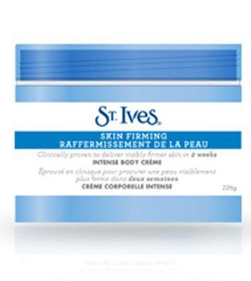 Crème corporelle raffermissement de la peau St.Ives