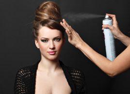 Votre fixatif à cheveux est-il dangereux?