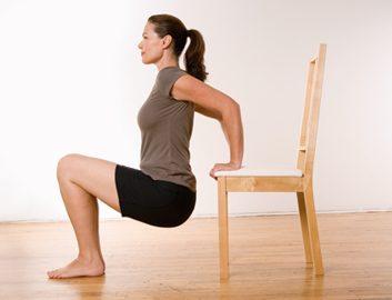 Flexion sur chaise