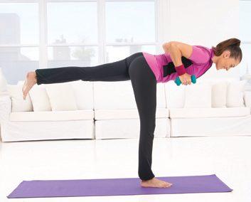 4. Flexion du buste