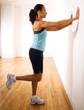 Flexions des jambes, debout