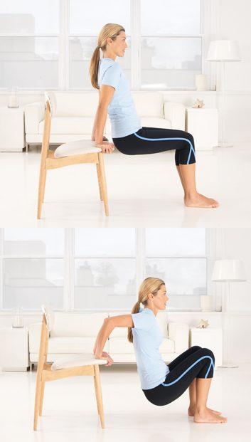 2. Flexions sur canapé