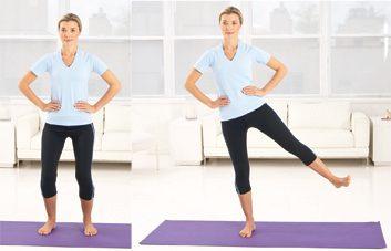 5. Flexions mains à la taille