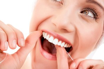 3. Si vos gencives saignent quand vous utilisez de la soie dentaire...