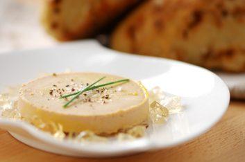 1. Foie gras