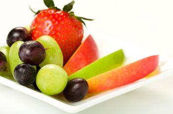 2. Terminez avec des fruits