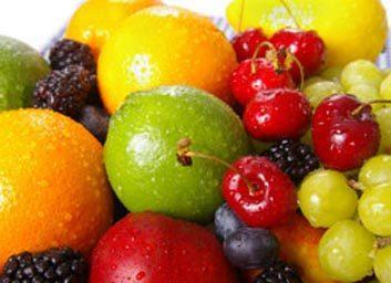 1. Utilisez des fruits