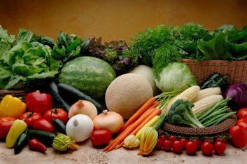 3. Glucides complexes: grains entiers, fruits et légumes