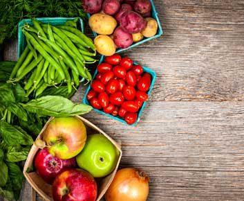 Laver vos fruits et légumes
