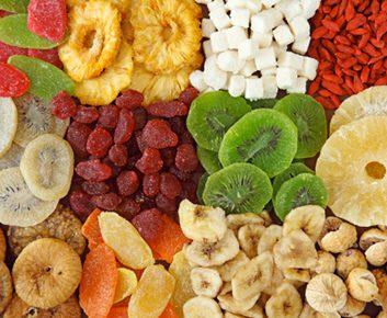 Ayez les bons ingrédients : Fruits séchés