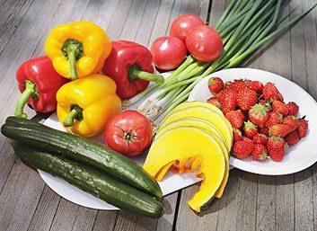 9. Fruits et légumes frais